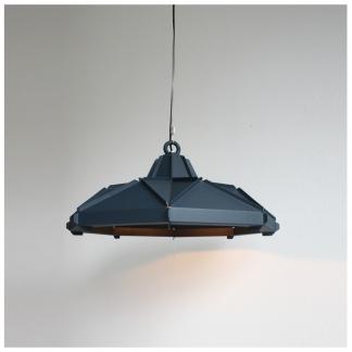 28. Klink lampshade Ø60cm in the color Workshop blue