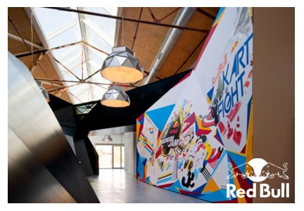Lighting Red Bull HQ Amsterdam