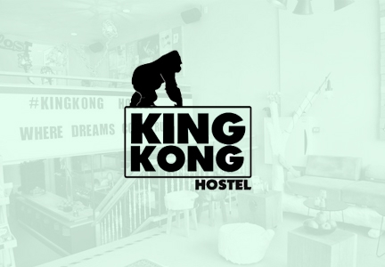 Check in counter King Kong Hostel