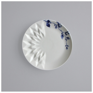 08. Bread & Butter plate 'Blauw Vouw'