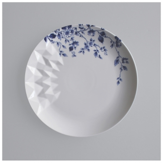 10. Dinner Plate 'Blauw Vouw'