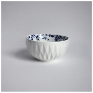 05. Dipping Bowl 'Blauw Vouw'