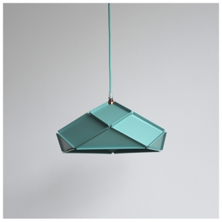 09. Solid Lampshade Minty Green