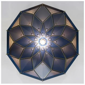 31. SILVER LININGS LAMPSHADE